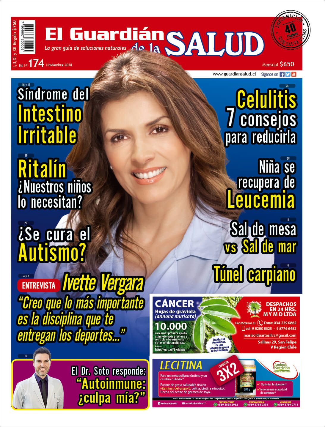 Edición 174 Síndrome del Intestino Irritable – El Guardián de la Salud Digital
