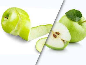 ¿Es bueno pelar las frutas y los vegetales?