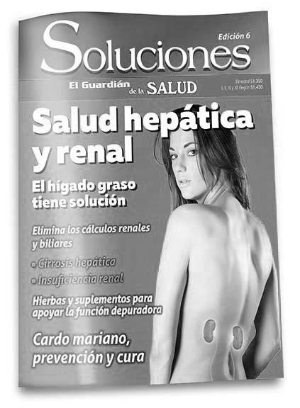 Revista Soluciones 06 Salud Hepática y Renal (calidad fotocopia)
