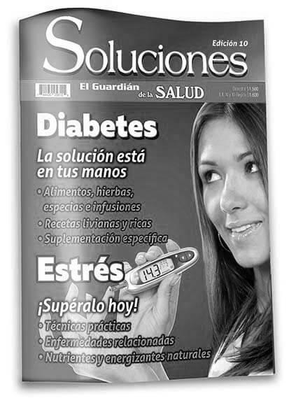 Revista Soluciones 10 Diabetes la solución está en tus manos (calidad fotocopia)