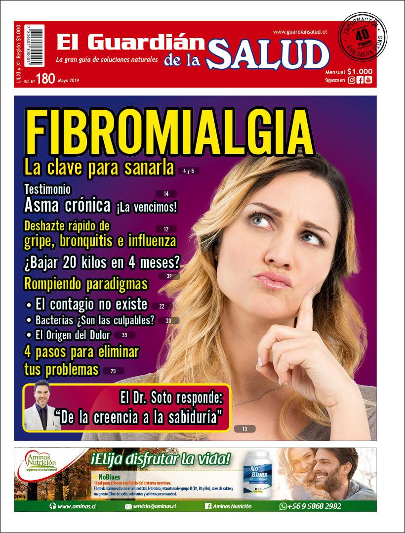 Edición 180 FIBROMIALGIA La clave para sanarla – El Guardián de la Salud Digital