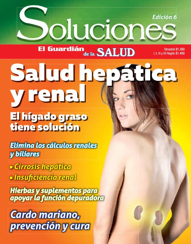 Revista Soluciones Digital Nº6 Salud renal y Hepática