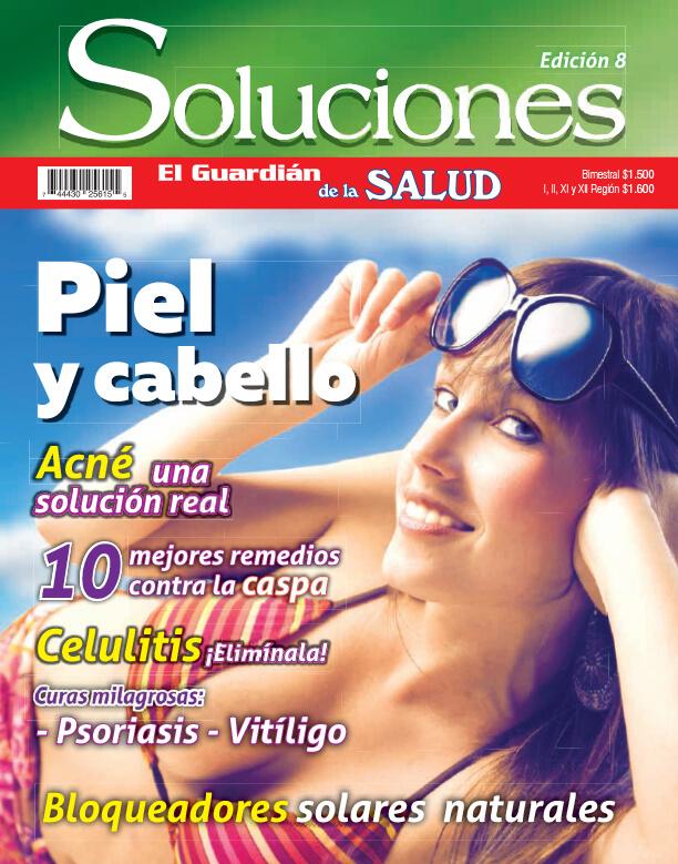 Revista Soluciones Digital Nº 8 Piel y cabello