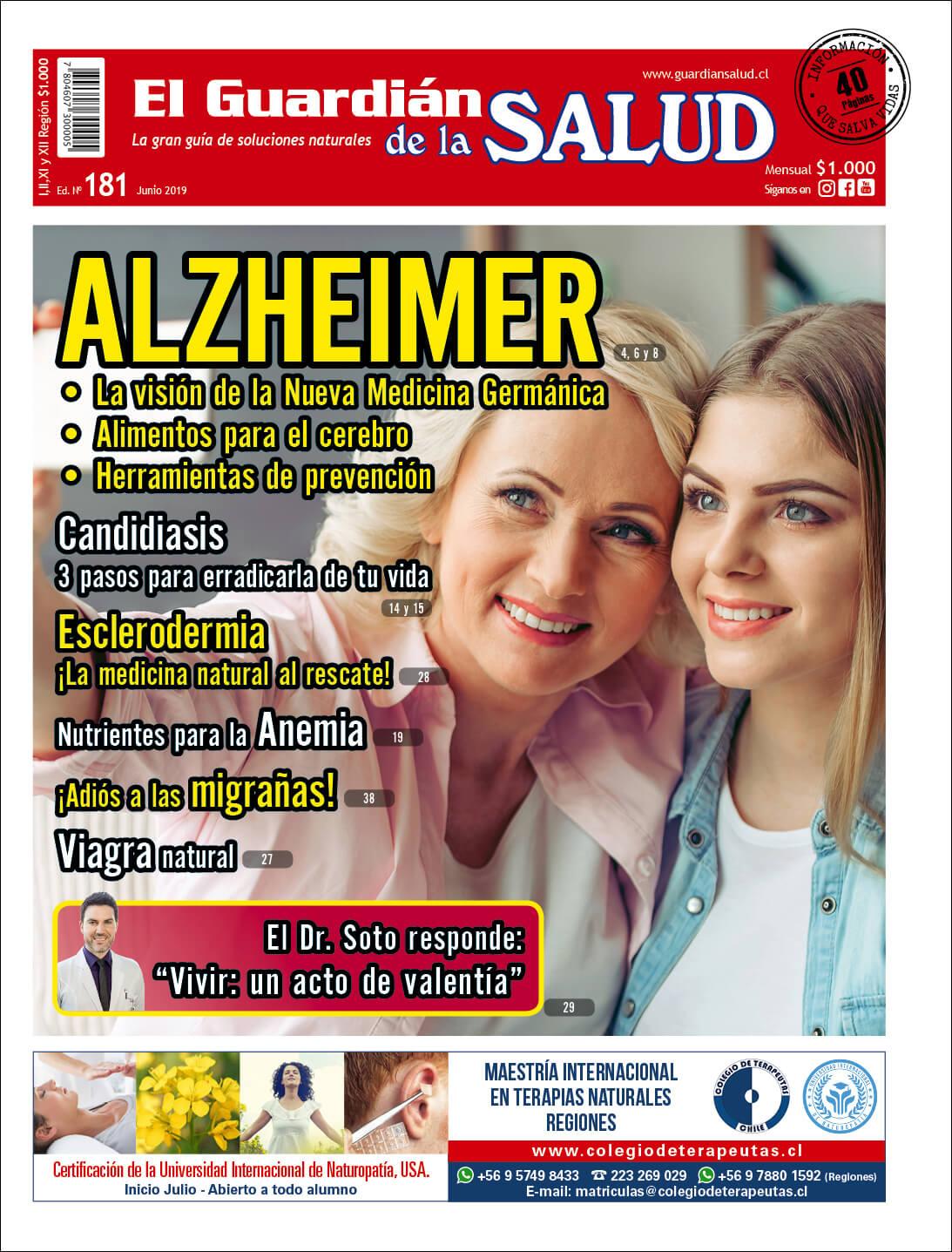 Edición 181 ALZHEIMER – El Guardián de la Salud Digital