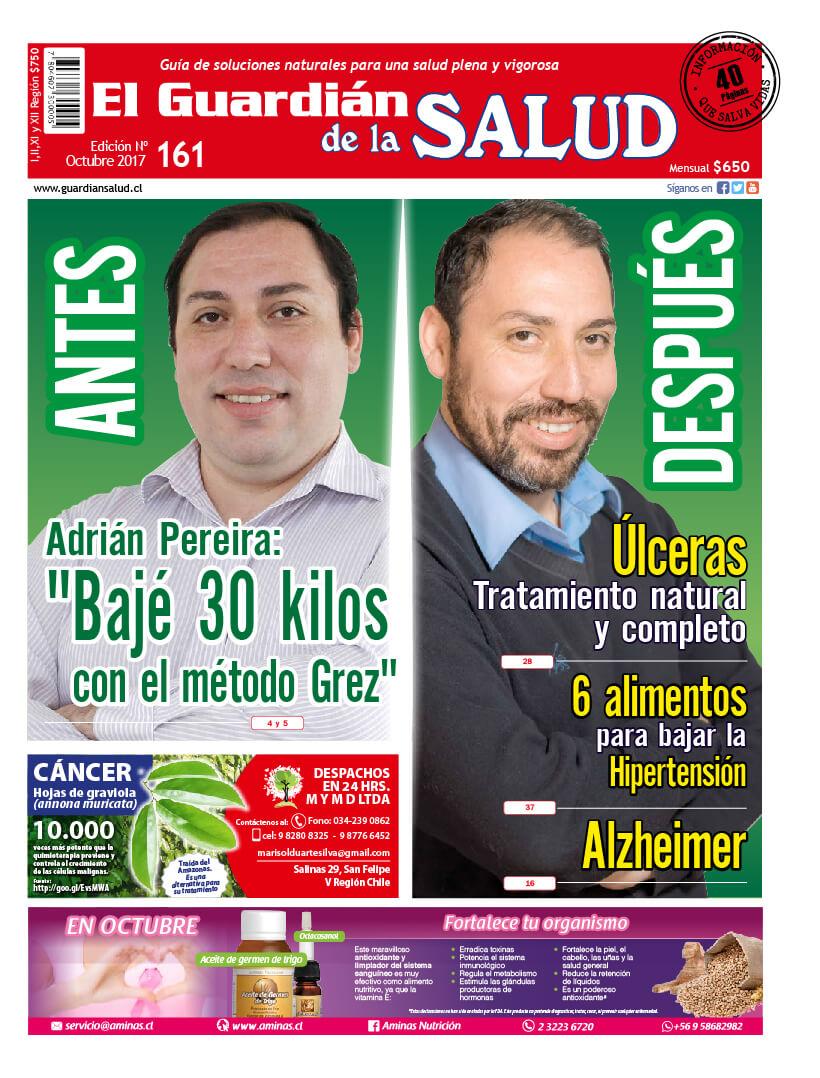 """Edición 161 Digital """"Bajé 30 kilos con el Método Grez"""""""