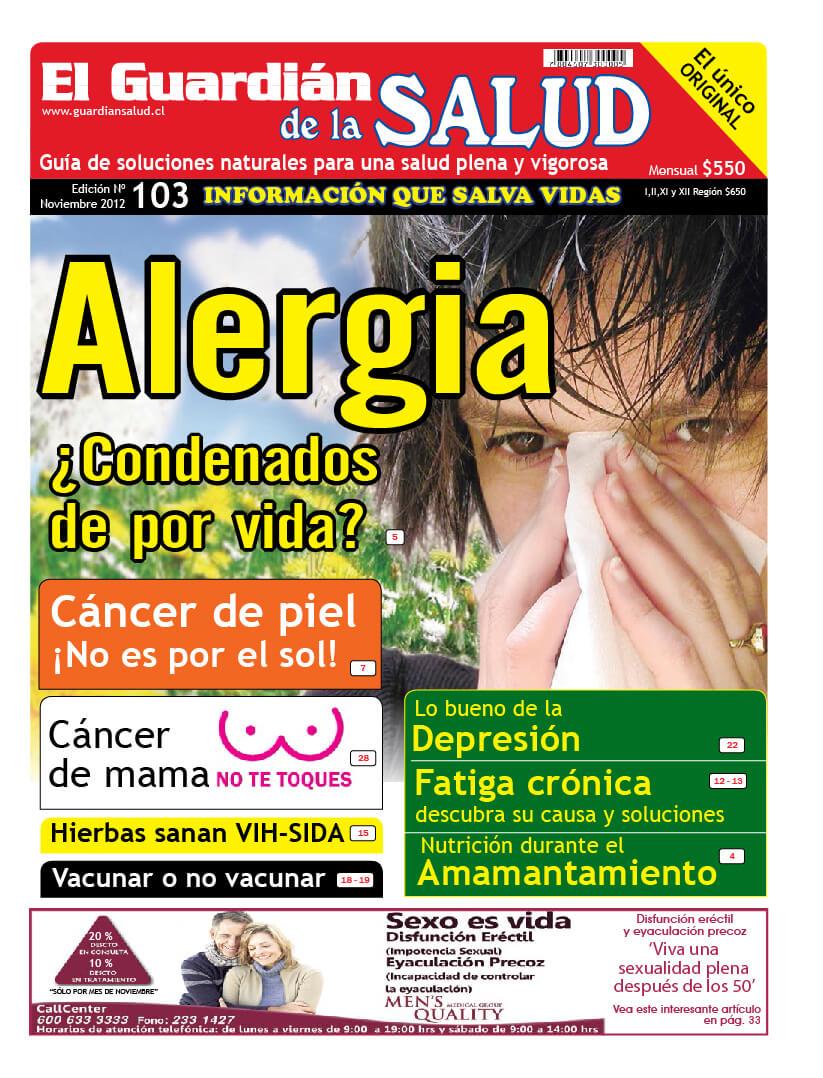 Edición 103 Alergia – El Guardián de la Salud Digital
