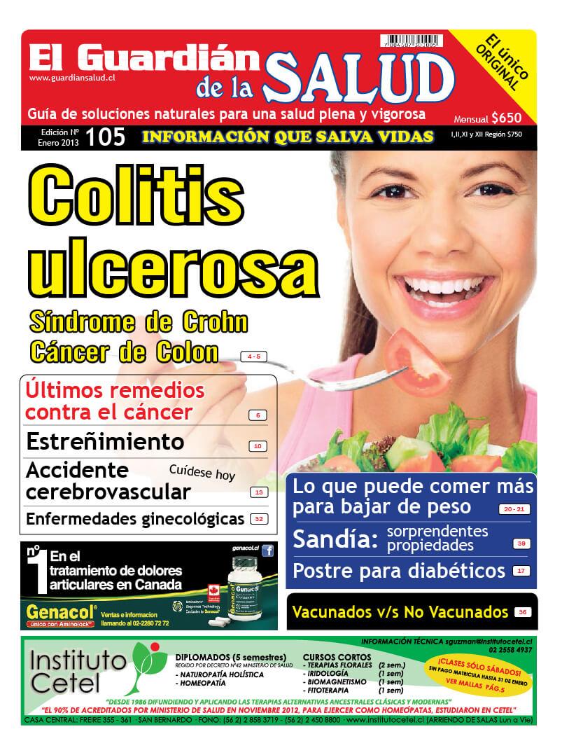 Edición 105 Colitis Ulcerosa – El Guardián de la Salud Digital