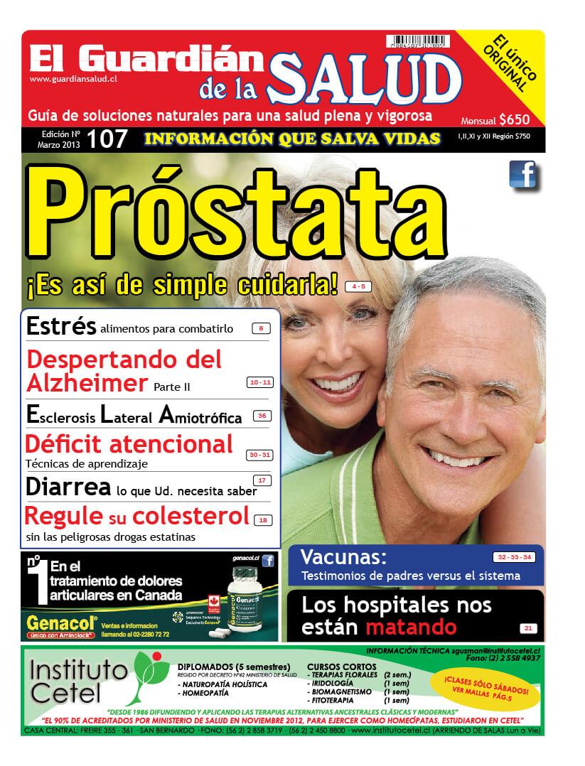 Edición 107 Próstata – El Guardián de la Salud Digital