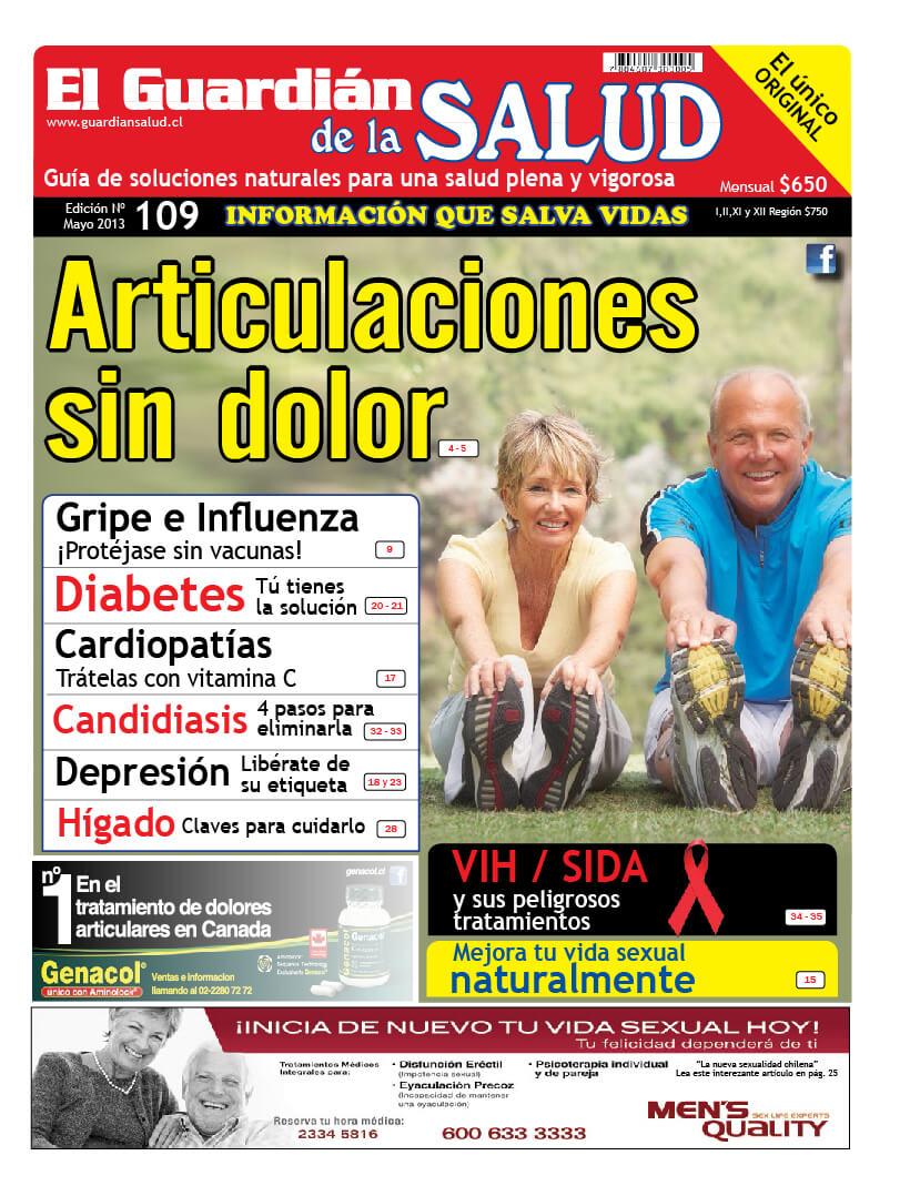 Edición 109 Articulaciones sin dolor – El Guardián de la Salud Digital
