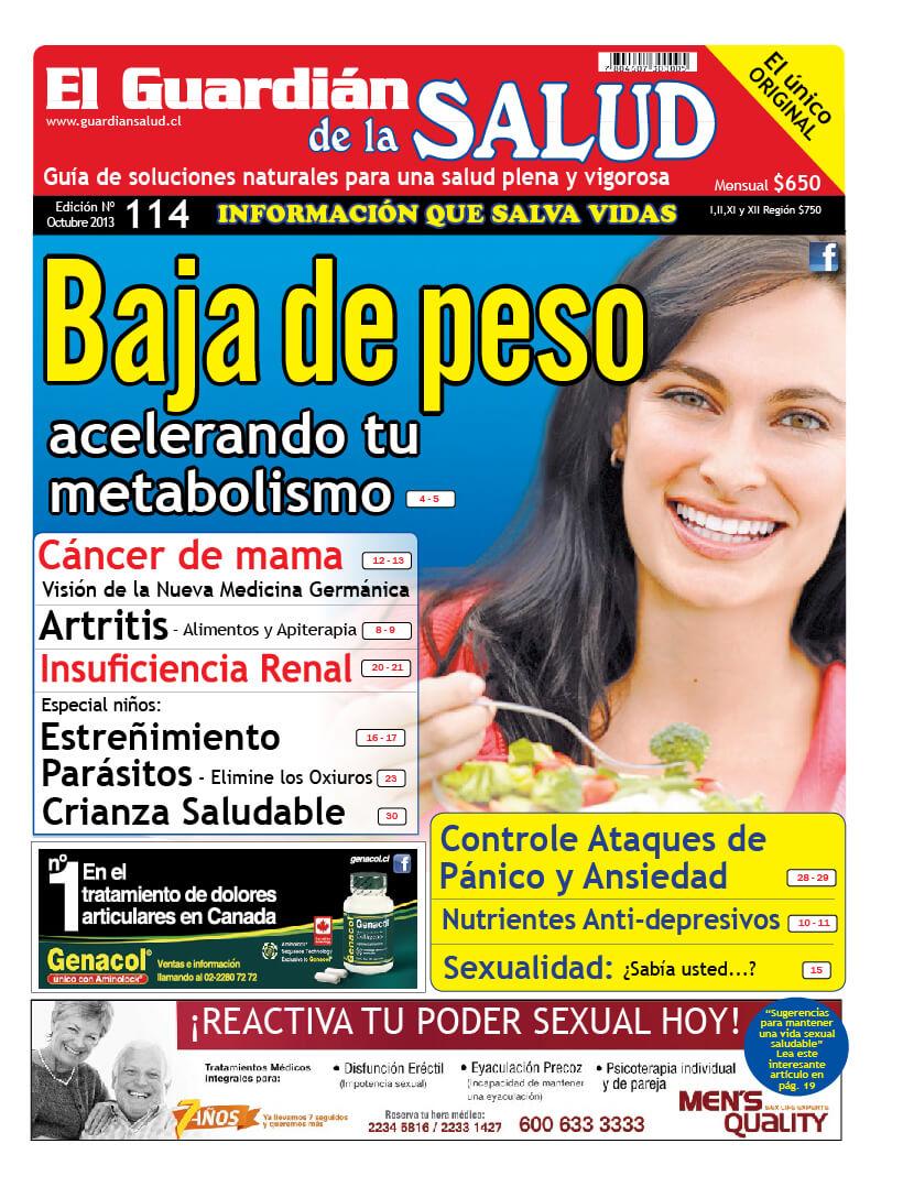 Edición 114 Baja de peso acelerando tu metabolismo – El Guardián de la Salud Digital