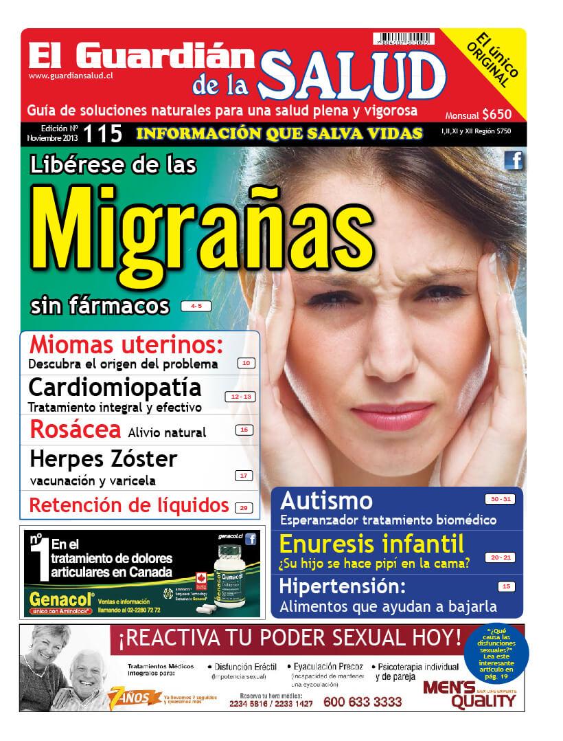 Edición 115 Libérese de las Migrañas – El Guardián de la Salud Digital