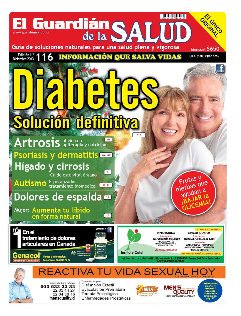 Edición 116 Diabetes Solución Definitiva – El Guardián de la Salud Digital