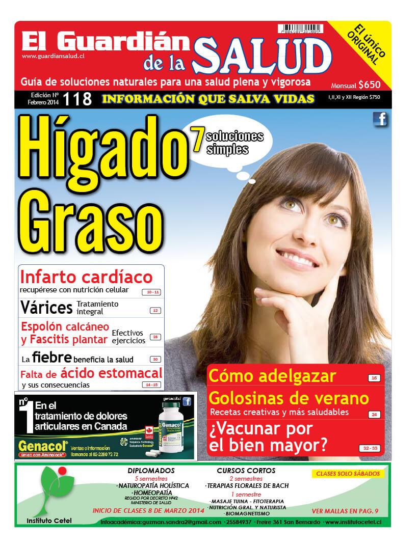 Edición 118 Hígado Graso – El Guardián de la Salud Digital