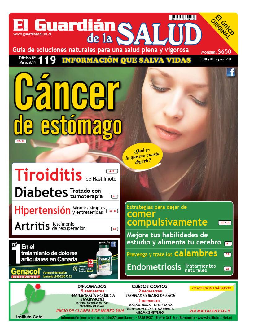 Edición 119 Cáncer de estómago – El Guardián de la Salud Digital
