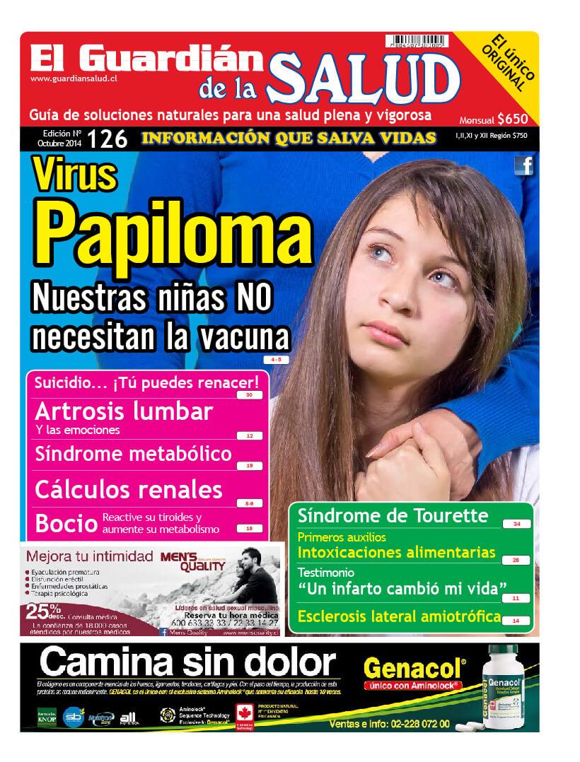 Edición 126 Virus Papiloma – El Guardián de la Salud Digital
