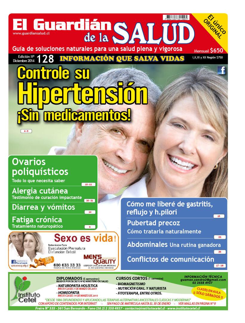 Edición 128 Hipertensión – El Guardián de la Salud Digital