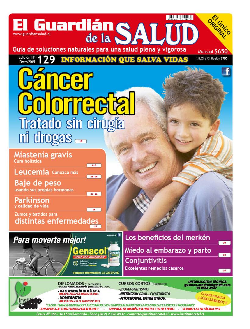 Edición 129 Cáncer Colorrectal- El Guardián de la Salud Digital
