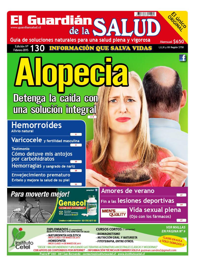 Edición 130 Alopecia – El Guardián de la Salud Digital