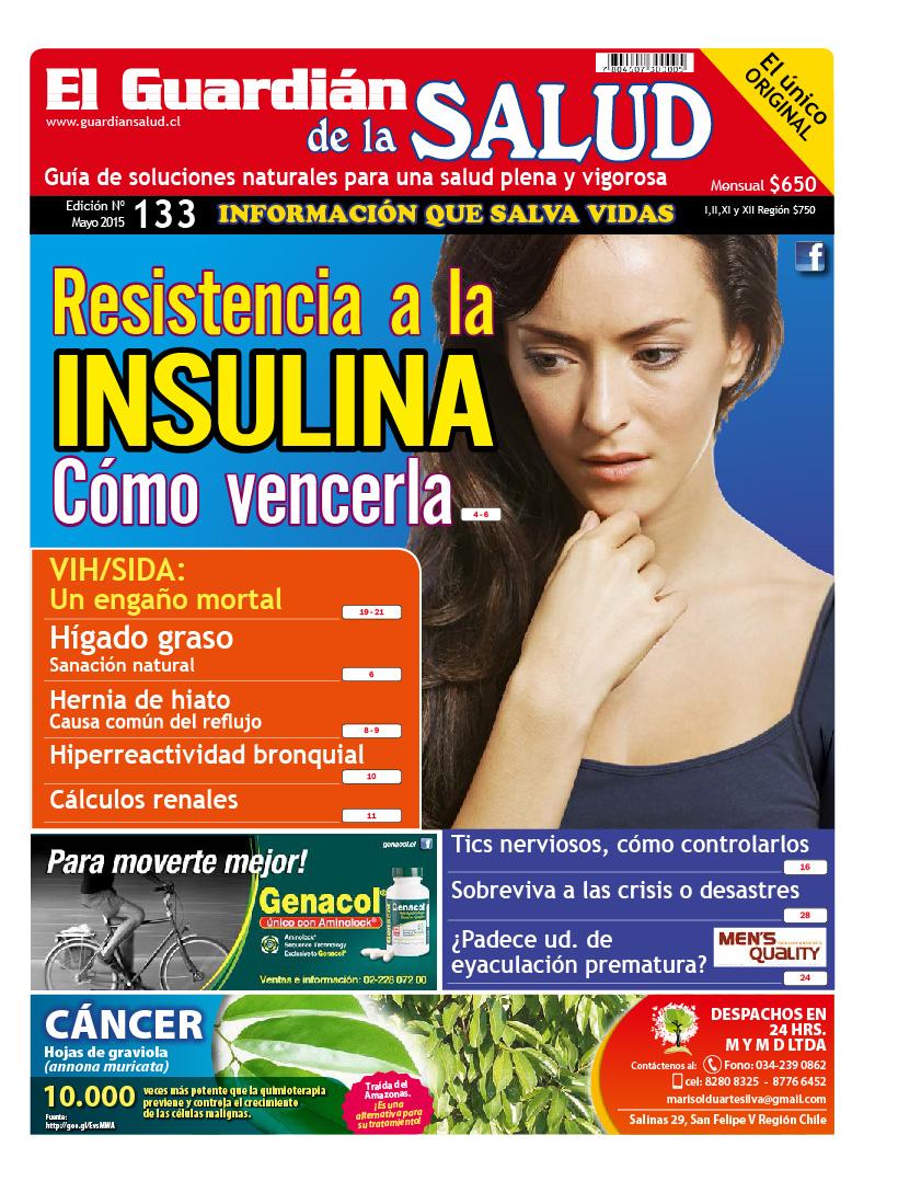 Edición 133 Resistencia a la insulina – El Guardián de la Salud Digital