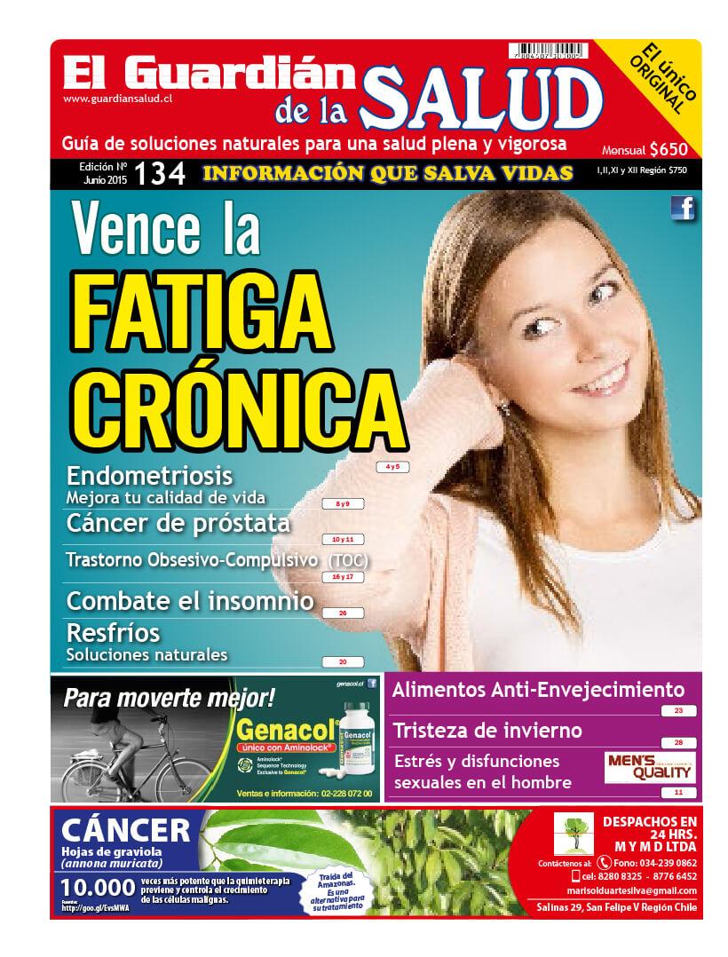Edición 134 Fatiga crónica – El Guardián de la Salud Digital