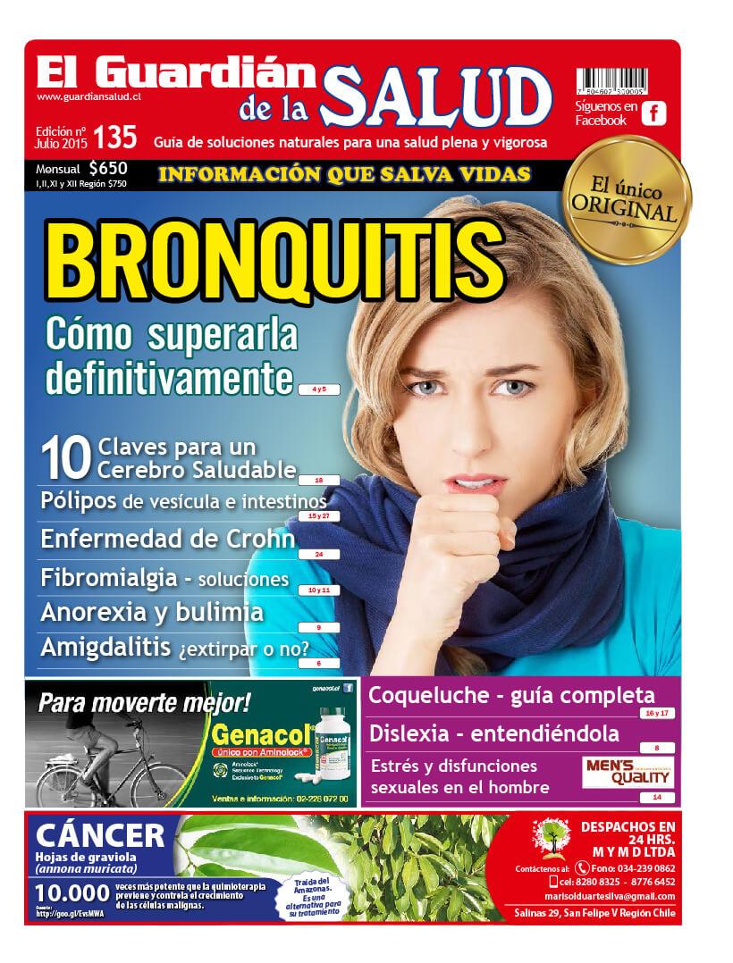 Edición 135 Bronquitis – El Guardián de la Salud Digital