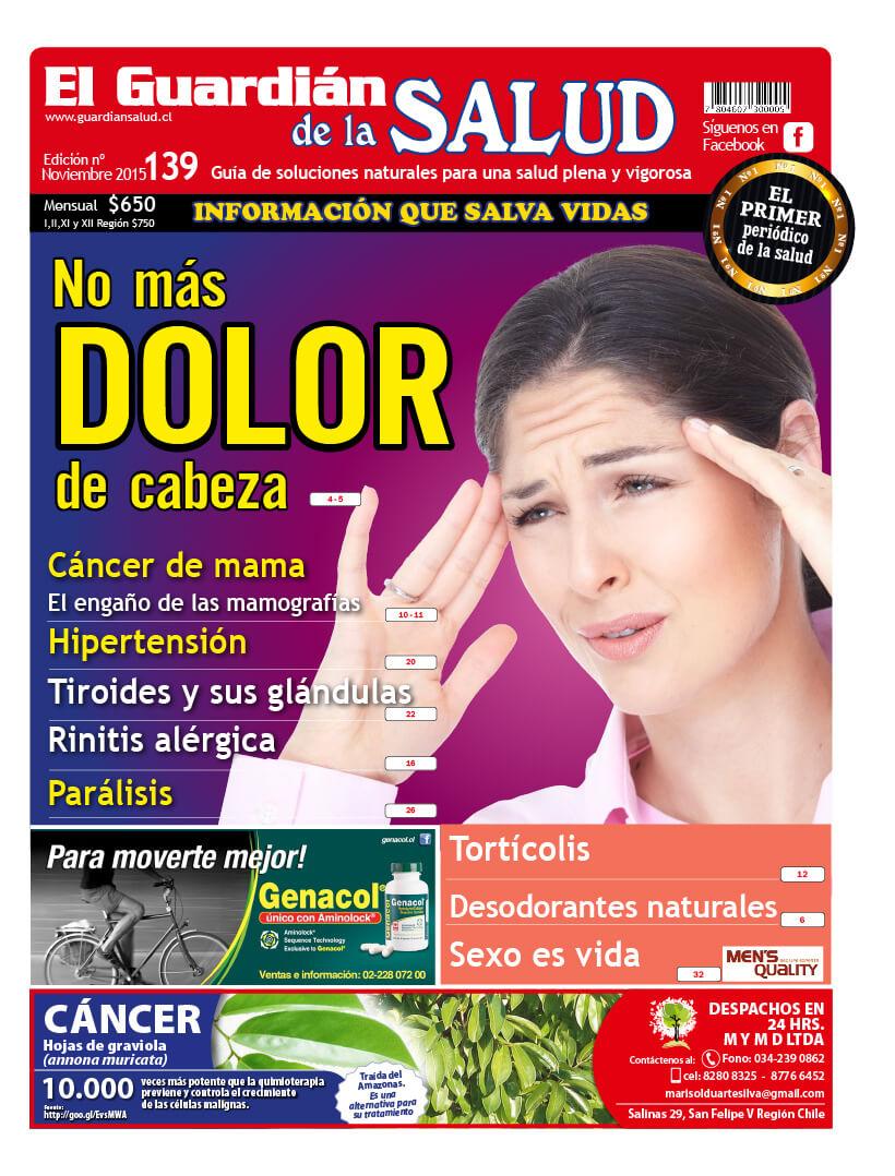 Edición 139 No más dolor de cabeza – El Guardián de la Salud Digital