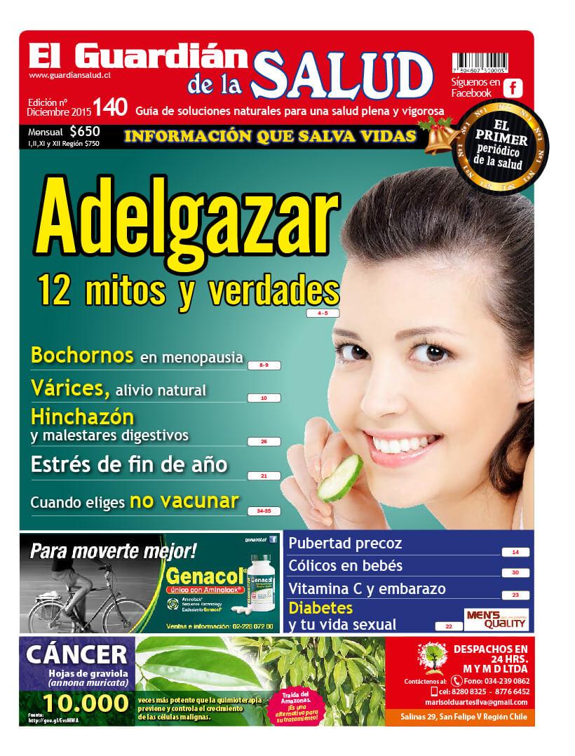 Edición 140 Adelgazar mitos y verdades – El Guardián de la Salud Digital