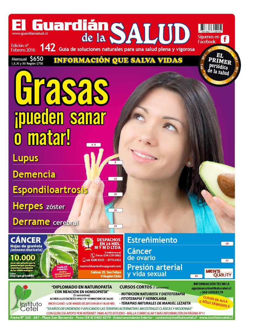 Edición 142 Grasas ¡pueden sanar o matar! – El Guardián de la Salud Digital