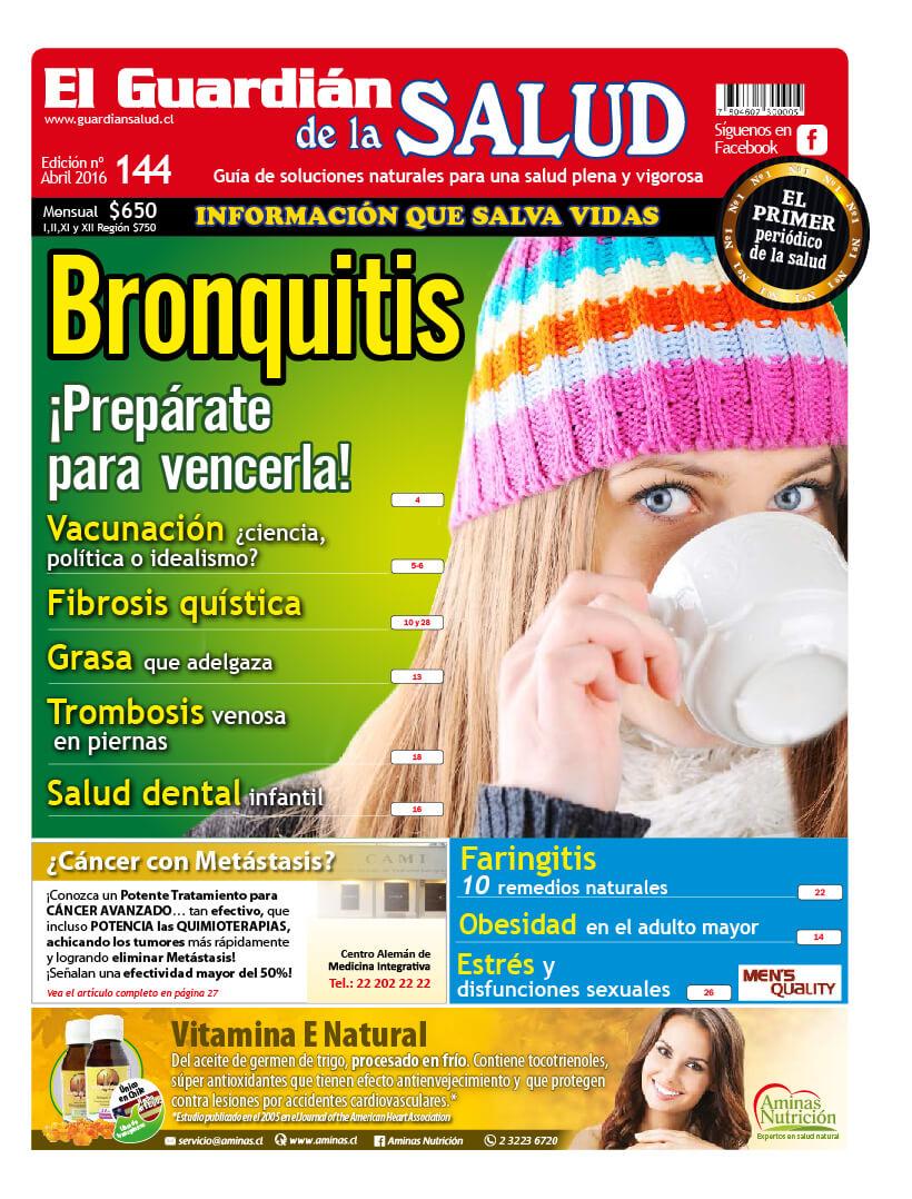 Edición 144 Bronquitis – El Guardián de la Salud Digital
