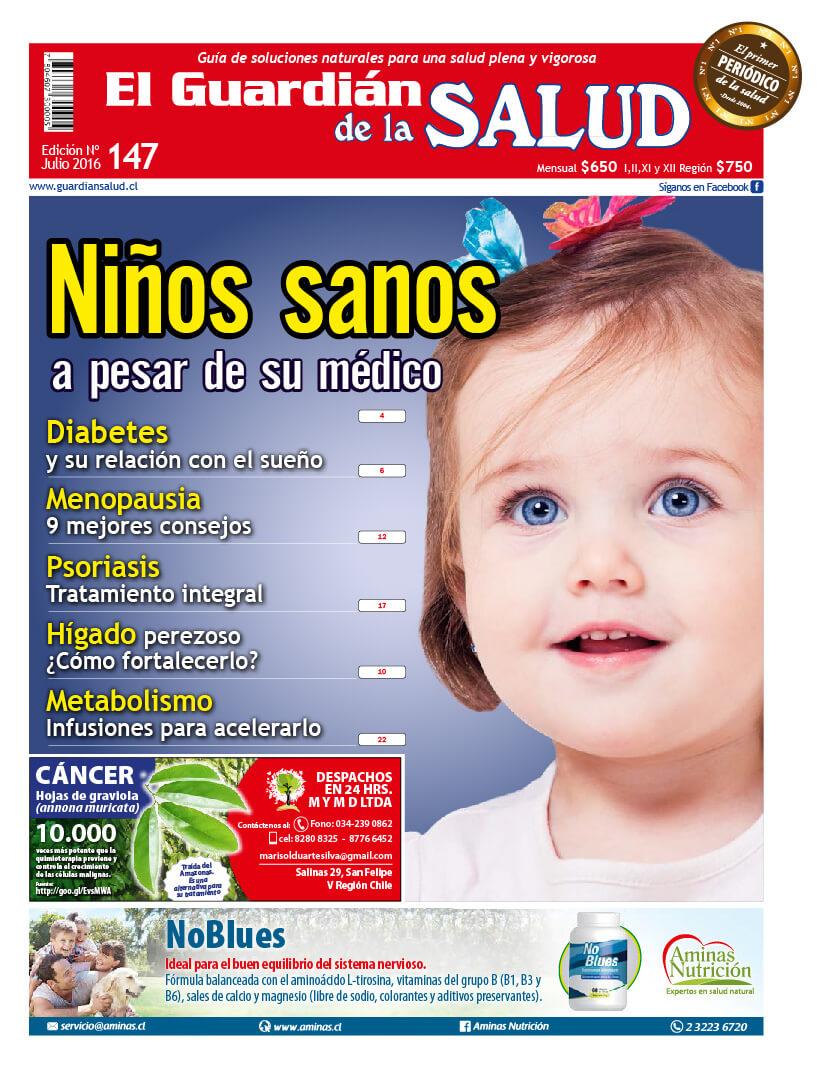 Edición 147 Niños sanos a pesar de su médico – El Guardián de la Salud Digital