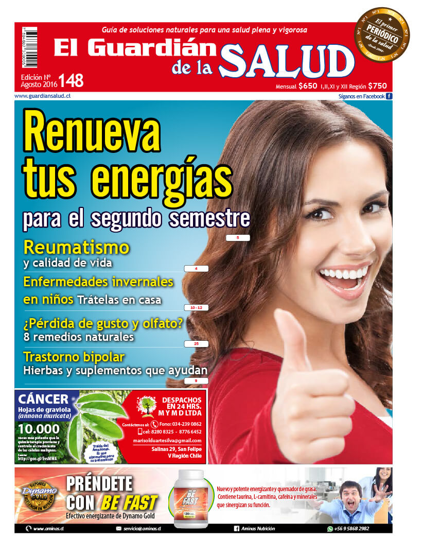 Edición 148 Renueva tus energías – El Guardián de la Salud Digital