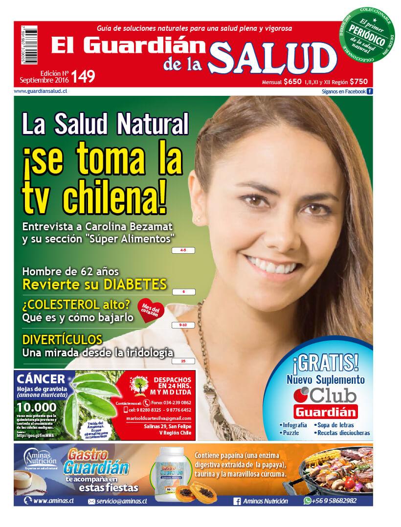 Edición 149 La Salud Natural se toma la tv chilena – El Guardián de la Salud Digital