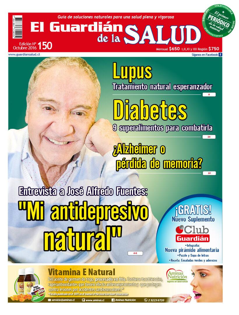"""Edición 150 """"Mi antidepresivo natural"""" José Alfredo Fuentes – El Guardián de la Salud Digital"""