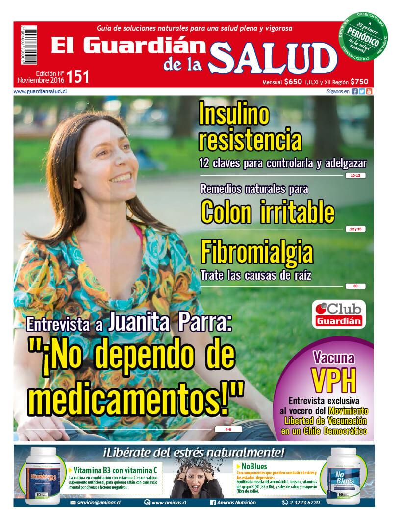 """Edición 151 """"No dependo de medicamentos"""" Juanita Parra – El Guardián de la Salud Digital"""