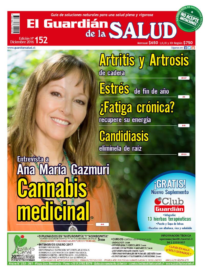 Edición 152 Cannabis medicinal – El Guardián de la Salud Digital