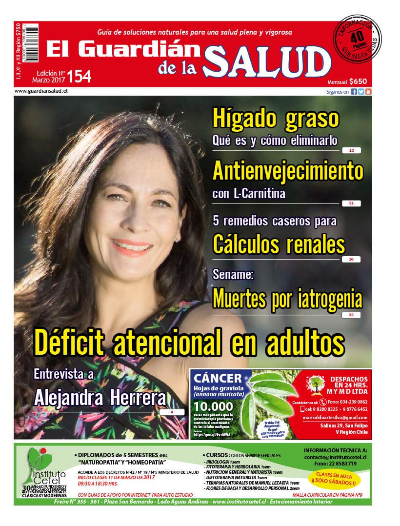 Edición 154 Déficit atencional en adultos – El Guardián de la Salud Digital