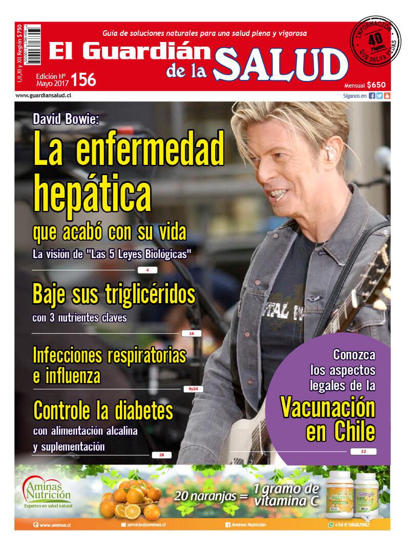 Edición 156 David Bowie: La enfermedad hepática que acabó con su vida – El Guardián de la Salud Digital