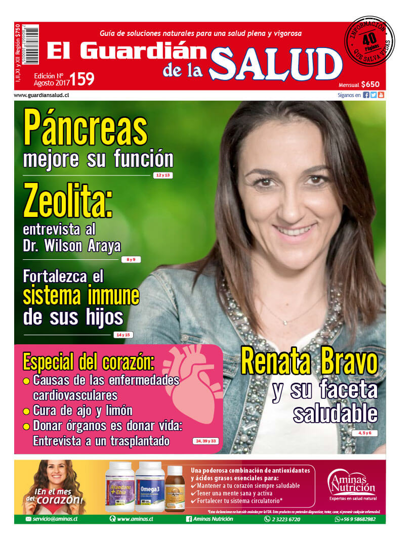 Edición 159 Páncreas mejore su función – El Guardián de la Salud Digital
