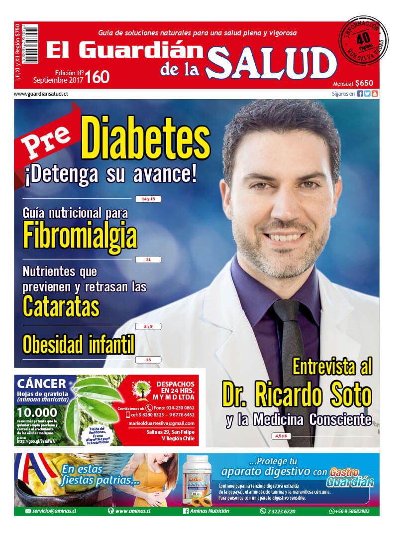 Edición 160 Pre-Diabetes ¡Detenga su avance!- El Guardián de la Salud Digital