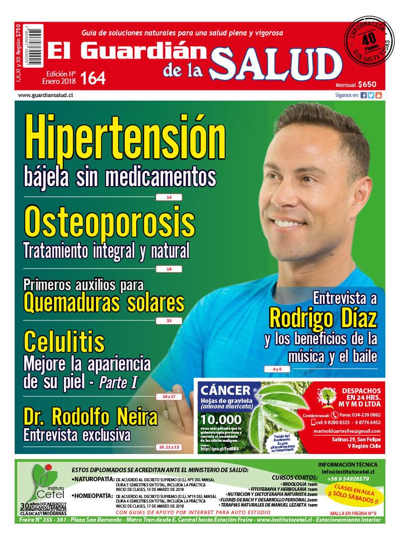 Edición 164 Hipertensión bájela sin medicamentos – El Guardián de la Salud Digital