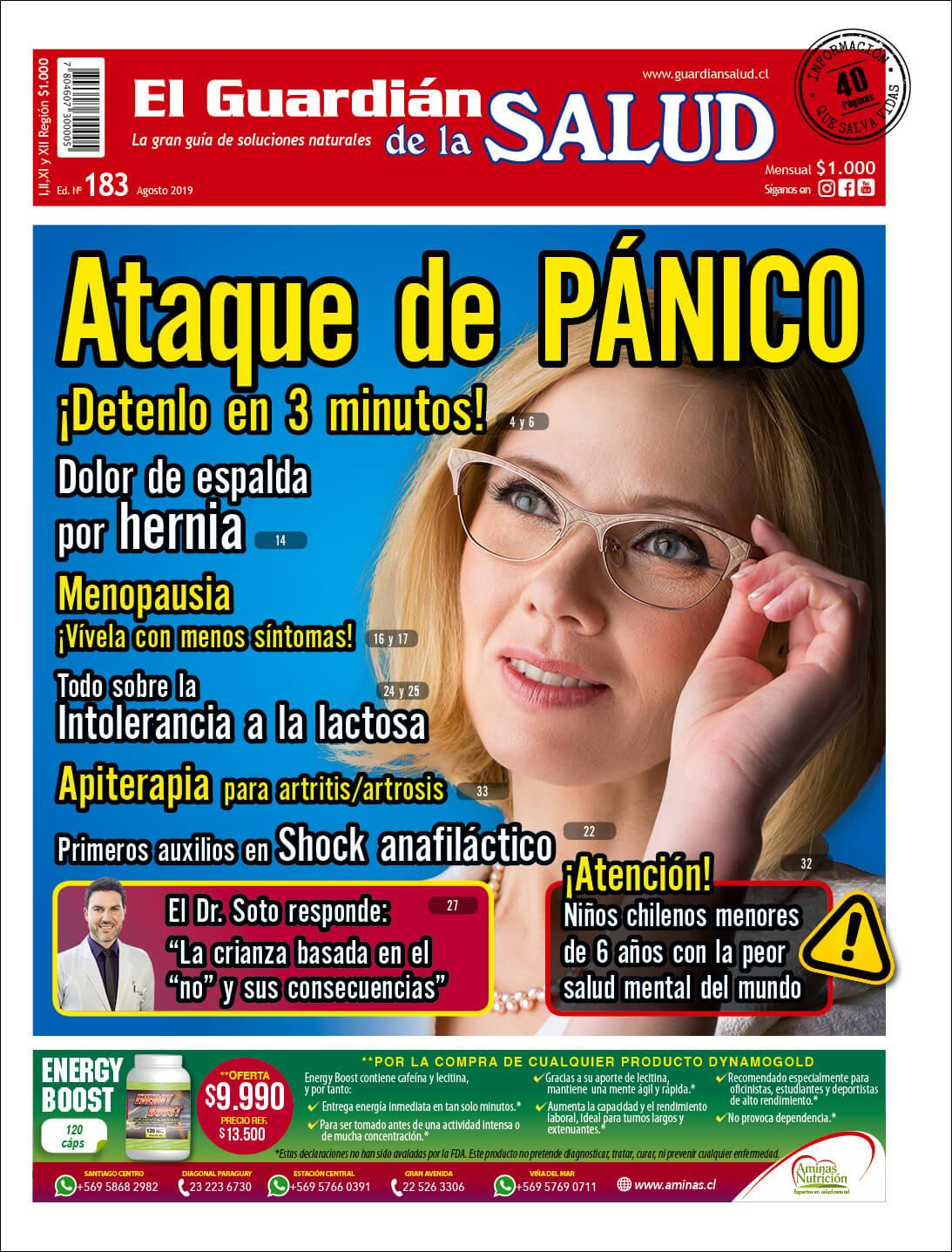 Edición 183 Ataque de pánico ¡Detenlo en 3 minutos! – El Guardián de la Salud Digital