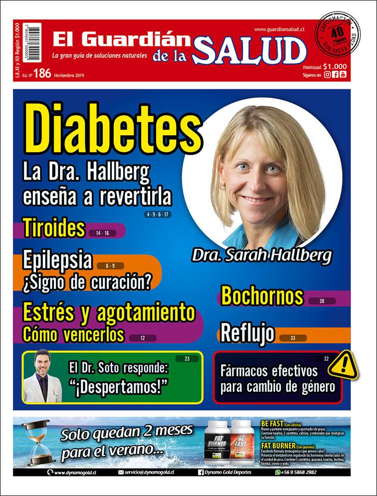 Edición 186 Diabetes La Dra. Hallberg enseña a revertirla – El Guardián de la Salud Digital