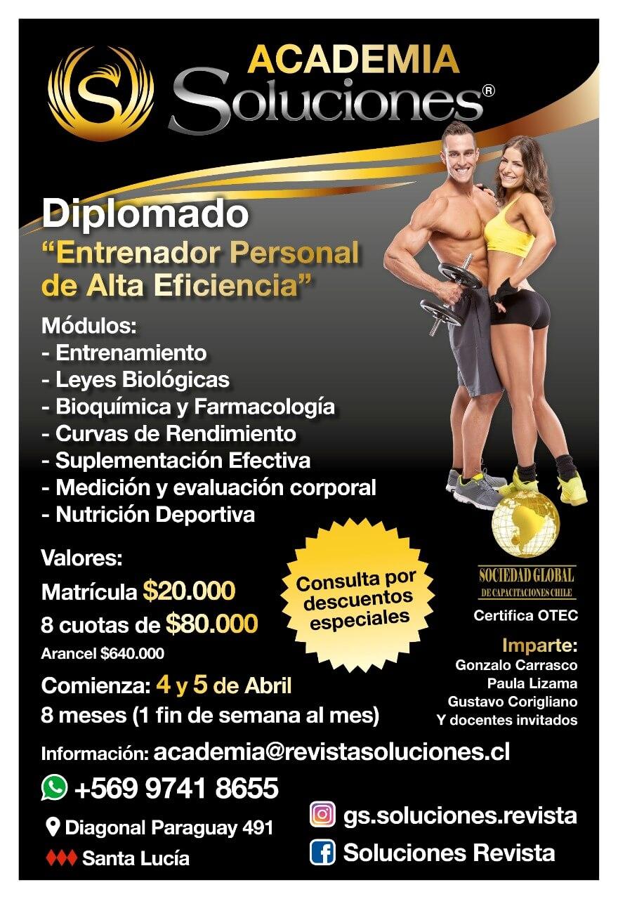 """Diplomado """"Entrenador Personal de Alta Eficiencia"""""""